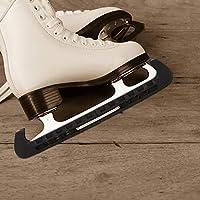BESPORTBLE Protectores de Patinaje sobre Hielo Cuchilla de Patinaje de Hockey Protectora Ajustable Fundas para Caminar Negro