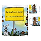 Bad Königshofen im Grabfeld - Einfach die geilste Stadt der Welt Kaffeebecher - eine coole Tasse von trendaffe - passende weitere Begriffe dazu: Stadt-Tasse Städte-Kaffeetasse Lokalpatriotismus Spruch kw Paris Aubstadt Althausen Würzburg Schweinfurt Großeibstadt Frankfurt am Main Aub Suhl Coburg Bamberg Herbstadt Trappstadt Eyershausen Gabolshausen Tasse Kaffeetasse Becher mug Teetasse oder Büro.