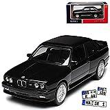 alles-meine.de GmbH BMW 3er E30 M3 Coupe Sport Evolution Schwarz 1982-1994 1/43 Norev Modell Auto mit individiuellem Wunschkennzeichen