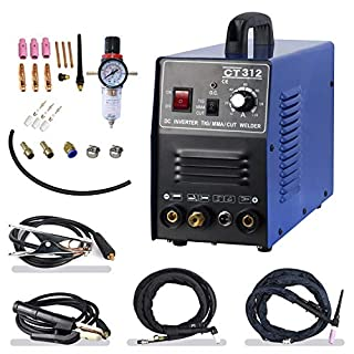 Plasma Cutter 30A TIG/MMA 120A 3 in 1 Combo Welding Machine HF Scrach Start Arc Plasma Cutter 220V CT312