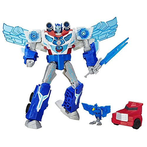 Transformers Robots in Disguise Power Surge Optimus Prime and Aero Bolt Figure