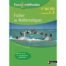 Fichier de Mathématiques 1re Bac pro Groupements A et B