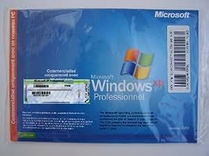 Windows XP Pro SP1 OEM - 1 poste (Licence et support)