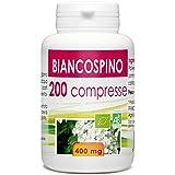 Impianto da Biancospino - Box di 200 compresse da 400 mg