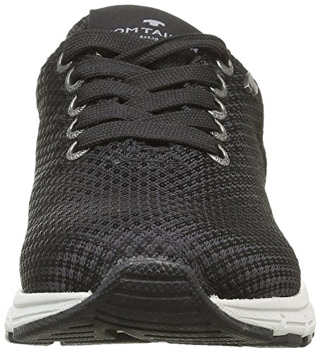 Tom Tailor 9671103, Baskets Basses garçon Noir