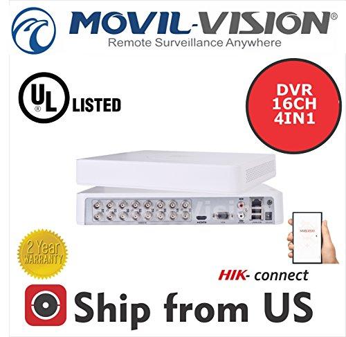 16CH DVR 1080P, Analog, hdtvi, AHD UL aufgeführten ds-7116hghi-f1ms-ta8216gh