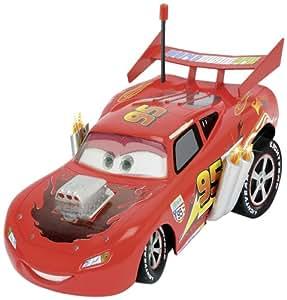 Dickie Spielzeug 203089548 - RC Disney Cars, Hot Rod Ultimate McQueen, 3-Kanal Funkfernsteuerung, rot, sortiert