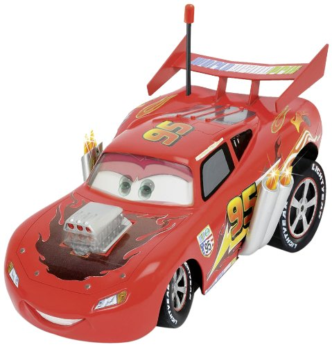 Dickie Jouet 203089548 - RC Disney Cars, Hot Rod Ultimate McQueen, radiocommande à 3 canaux, Rouge, Assortis