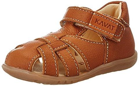 Kavat Unisex-Kinder Rullsand Geschlossene Sandalen, Braun (Light Brown), 25 EU