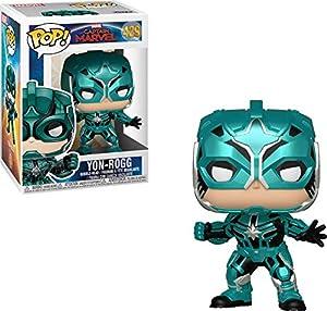 Funko Pop Captain Marvel Figura Yon-Rogg, Color Mulitcolor (36352)
