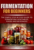 Fermentation for Beginners: The Simple Step By Step Guide to Fermenting Vegetables, Foods and Beverages (Abdominal Health Book 2)