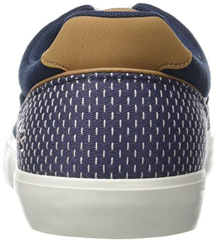 Lacoste Jouer Lace 118 1 Cam, Baskets Homme Bleu (Nvy/Dk Blu)