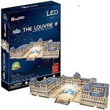 Cubic Fun l517h–3d Puzzle Museo del Louvre con LED–París–Francia