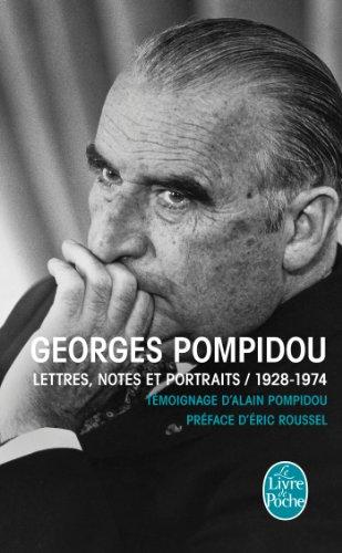 Lettres, notes et portraits