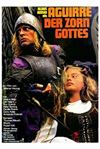 Aguirre, the Wrath of God - Movie Poster - 69x102 cm