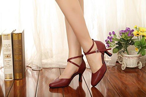Ballo Da Minitoo 7 Centimetri 5 Donna Tacco Sala Bordeaux qtqxnwHTUO