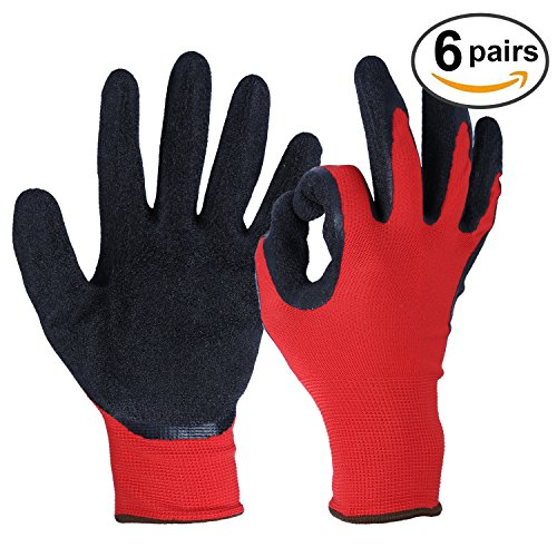 ozero-gardening-gloves-nitrile-coated-work-glove-with-stretchy-nylon-shell-for-yard-farm-household-w