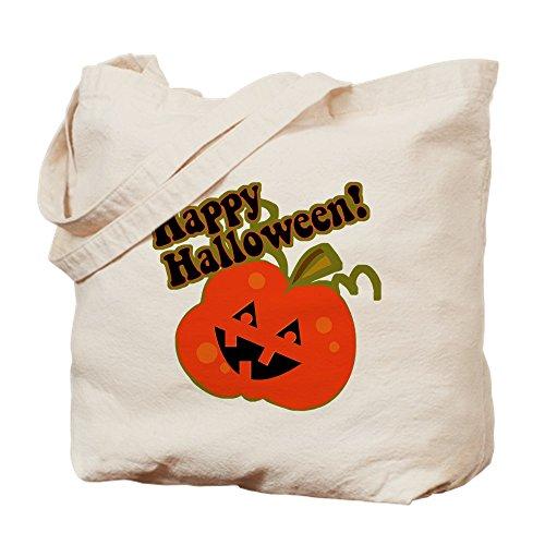 oween Jack O Laterne–Leinwand Natur Tasche, Reinigungstuch Einkaufstasche Tote S khaki (Vintage Halloween-jack O Laternen)