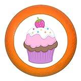 'Poignée de meuble Muffin Cupcake Fraise blanc rose violet bois enfants Chambre d'enfant fille 1Rêve Enfant