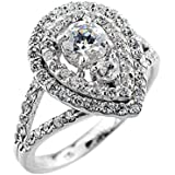 Little Treasures - 14 ct Gold Diamond Engagement Proposal Ring