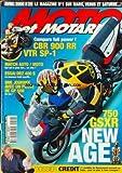 MOTO ET MOTARDS [No 29] du 01/04/2000 - 750 GSXR NEW AGE - DOSSIER CREDIT - COMPARO...