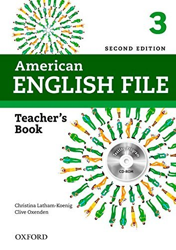American English File 2E 3 Teacher Book: With Testing Program by Christina Latham-Koenig (2013-07-18)