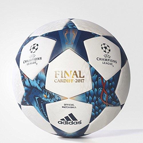 Adidas Finale CDF OMB Pallone da calcio, Uomo, Bianco (Bianco/azumis/turque), 5