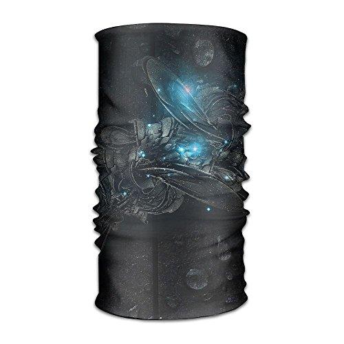 Dark Jester Costume - VICKKY Headwear Headband Dark Black Pattern