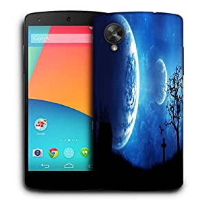 Snoogg Multiple Moon Designer Protective Phone Back Case Cover For LG Nexus 5