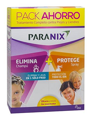 Paranix Pack Champú + Protect. Tratamiento Piojos