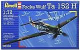 Revell Kit de maquette d'avion Focke Wulf Ta152H Échelle 1:72...