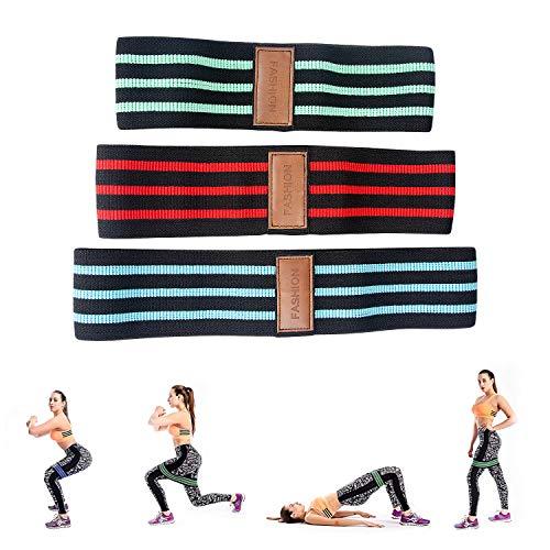 Fitnessb/änder 5er-Set 2m, Extra Lange Theraband Set Fitnessband Gymnastikband Widerstandsb/änder mit 4-St/ärken(Leicht, MIttel, Schwer, X-Schwer Pilates Reha Physiotherapie Trainingsband f/ür Yoga