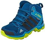 adidas Unisex-Kinder Terrex Ax2R Mid Cp K Schuhe, Mehrfarbig (Azunoc/Negbas/Seamso), 37.5 EU