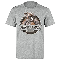 Boxer Dog Fight Club T-Shirt - Multiple Colours Available