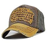 Elwow Sun Hat Herren Schirmmütze / Baseball Cap, im Vintage-Stil