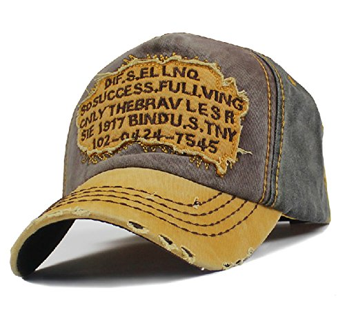 74c3251deee Men s Distressed Vintage Baseball Cap Snapback Trucker Hat