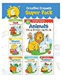 Best Toddler Truck Books - Colouring Books Super Pack: Creative Crayons Series Review