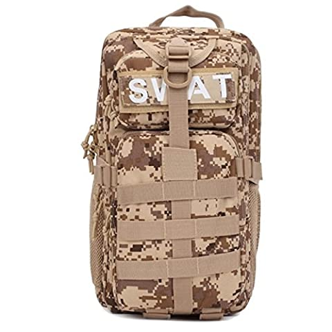 Outdoor Gear Military Tactical Molle 3P Assault Backpack Mountaineerin Travel Canvas Swat Combat Camping Cycling Bag