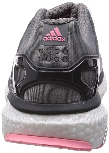 adidas PerformanceEnergy Boost ESM - Scarpe da corsa Donna Grigio (Grau (Ch Solid Grey/Core Black/Super Pop F15))