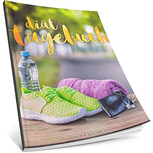 Dékokind® Diät-Tagebuch: Clevere 90 Tage Challenge zum Abnehmen || Das Abnehmtagebuch / Ernährungstagebuch zum Ausfüllen || C_28