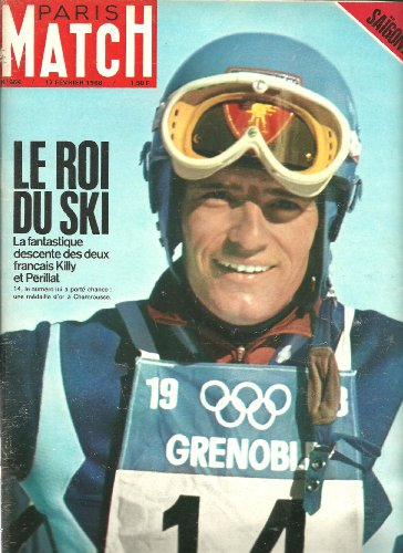 Paris Match 984 1968 Jeux olympiques de Grenoble G. Périllat J-C Killy (17 pages) Vietnam Hué Khe-Sanh Saïgon (16 pages)
