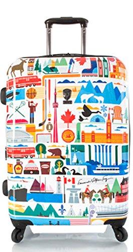 ... 50% SALE ... PREMIUM DESIGNER Hartschalen Koffer - Heys Künstler Fernando Kanada - Trolley mit 4 Rollen Medium Kanada
