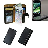 Portemonnaie Schutz Hülle für Yota YotaPhone 2, schwarz