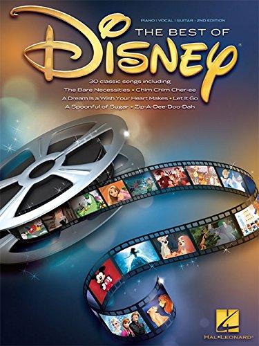 The Best Of Disney. Partitions pour Piano, Chant et Guitare(Boîtes d'Accord)