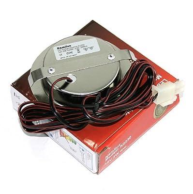10er Set 12V Power LED Möbel Schrank Küchen Einbauleuchte Möbelleuchte Einbaustrahler Spot IP20 Warmweiß 3 Watt LED entspricht einer 30 Watt Leuchte mit LED Trafo 15 Watt mit 230V Steckdosen Stecker von Kamilux