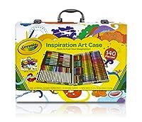 Valigetta con maniglietta e personalizzazione fantasia, 64 pastelli a cera, 20 mini matite, 40 pennarelli lavabili, 15 fogli di carta. Età 4+