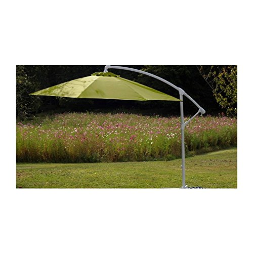 Parasol déporté fibre de verre 300 Eco - Couleur - Vert