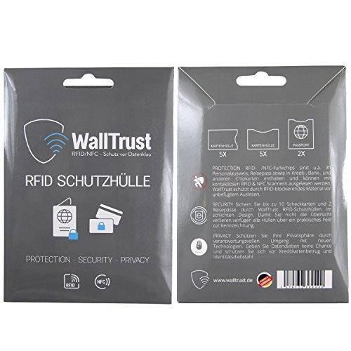Sanft 3er Set Rfid Schutzhülle Nfc Ec Kredit-karte Datenschutz Blocker Schutz Hülle Spezieller Kauf Kleidung & Accessoires Herren-accessoires