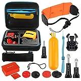 Linghuang Set d'accessoires Anti-coulage 14 en 1 pour GoPro Accessoires pour Caméra d'action pour Surf, pour Plongée, pour Ski Nautique et pour d'autre Sports de Mer
