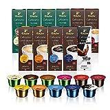 Tchibo Cafissimo 110 Kapseln Sorten Mix – Kaffee, Caffè Crema, Espresso, Tee – Probier Box
